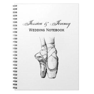 Caderno Pés da bailarina em Pointe #1