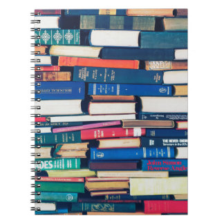 Caderno Pilha de livros