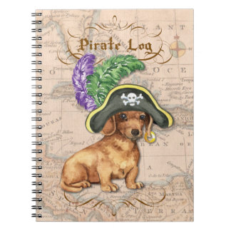 Caderno Pirata do Dachshund