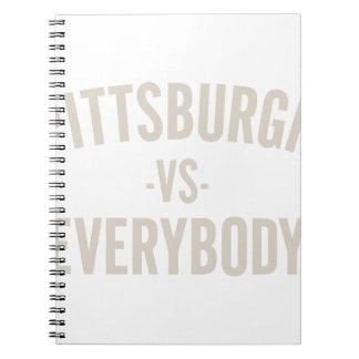 Caderno Pittsburgh contra todos
