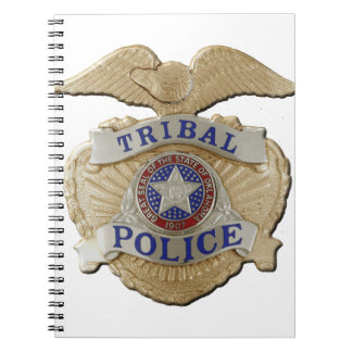 Caderno Polícia tribal de Oklahoma