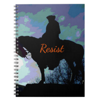 """Caderno Político 'RESISTA"""" George Washington no cavalo"""