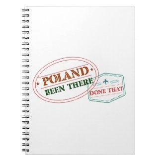 Caderno Polônia feito lá isso