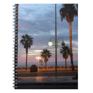 Caderno Por do sol
