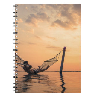 Caderno Por do sol de Bali