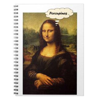 Caderno Porcos- de Mona Lisa
