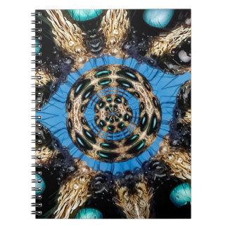 Caderno Portal psicadélico da aranha