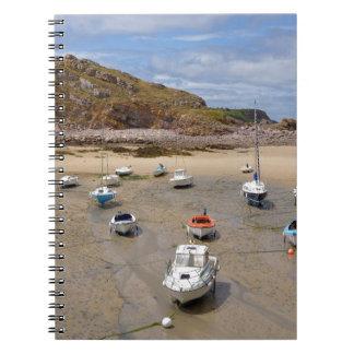 Caderno Porto de Erquy em France