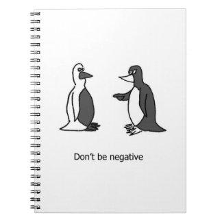Caderno positivo do pinguim