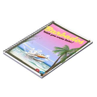 Caderno Poster de viagens da paisagem de Japão