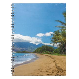 Caderno Praia em Havaí