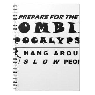 Caderno Prepare para o zombi