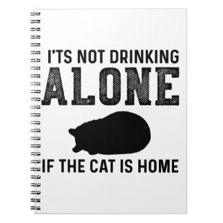 Caderno presente dos namorados do gatinho dos gatos para a