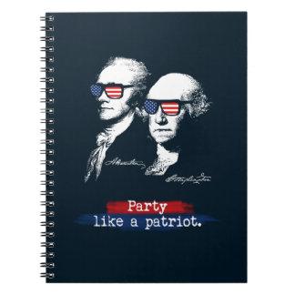 Caderno Presente dos patriotas de Alexander Hamilton