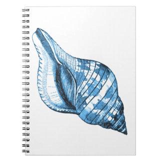 Caderno Presentes litorais náuticos da praia do oceano do