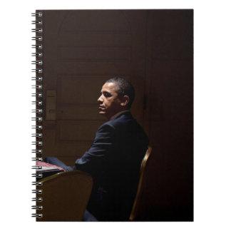 Caderno Presidente Barack Obama 12