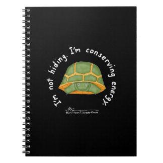 Caderno preto de conservação da energia
