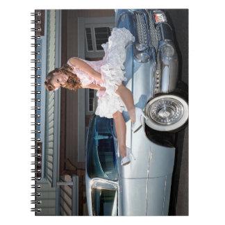 Caderno Princesa 1959 do cadillac do transportador Pin