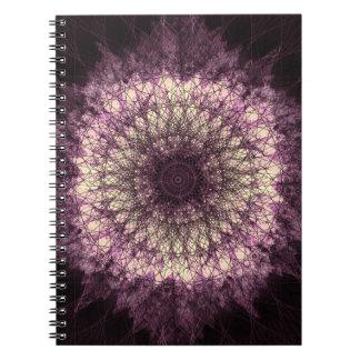 Caderno Purple Mandala