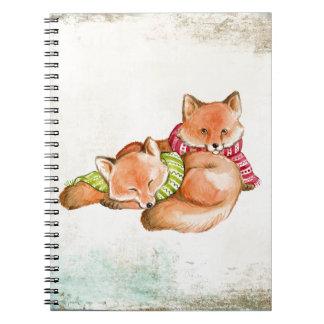 Caderno Raposas