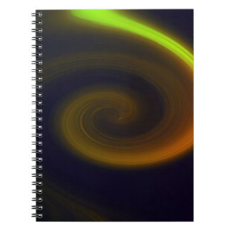 Caderno Redemoinho abstrato