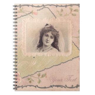 Caderno requintado FromMyDesk da ilustração do