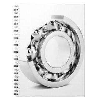 Caderno Rolamento de esferas