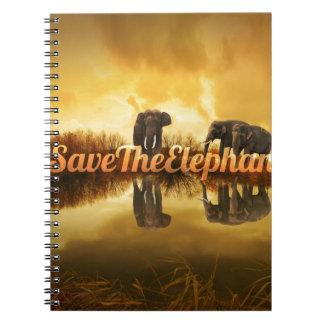 Caderno Salvar o design dos elefantes