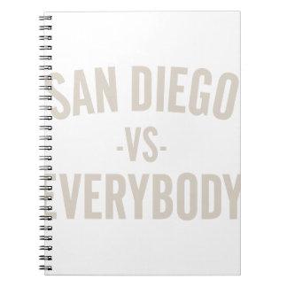 Caderno San Diego contra todos