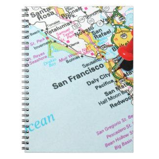 Caderno San Francisco, Califórnia