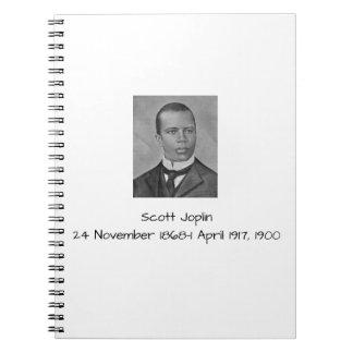 Caderno Scott Joplin