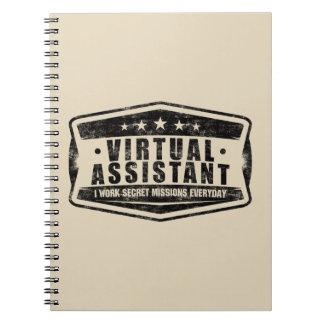 Caderno secreto assistente virtual das missões
