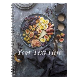 Caderno Seleção italiana da comida