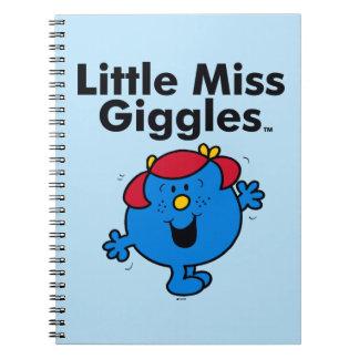 Caderno Senhorita pequena pequena Riso Gosto Riso da