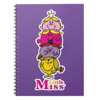 Caderno Senhorita pequena pequena Standing Alto da
