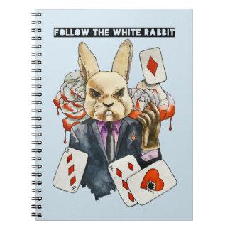 Caderno siga o coelho branco