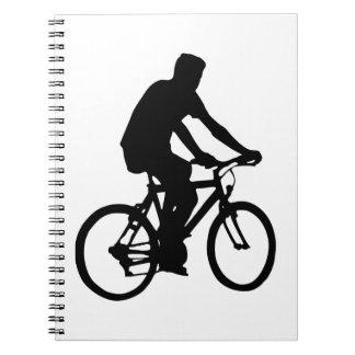 Caderno Silhueta do Bicyclist