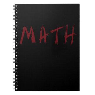 Caderno simples da MATEMÁTICA