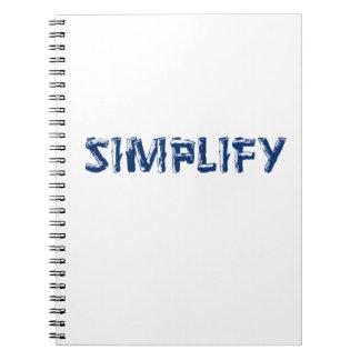 Caderno Simplifique