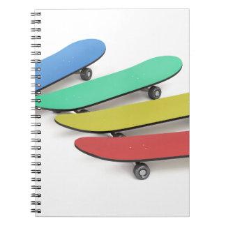 Caderno Skates