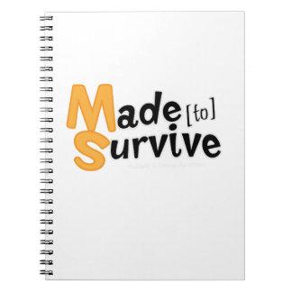Caderno Sobreviva à esclerose múltipla Awarness