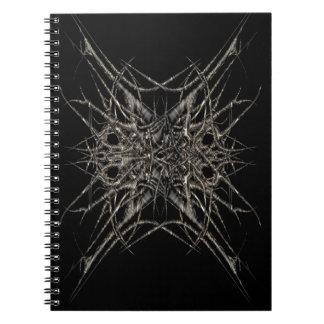 Caderno soltado