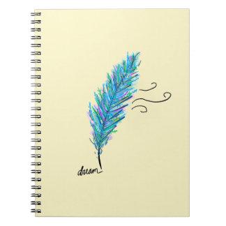 """caderno """"sonho """" da pena"""