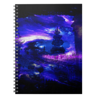 Caderno Sonhos Amethyst de Bali da safira
