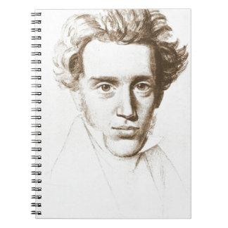 Caderno Søren Kierkegaard - filósofo do Existentialist