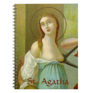 Caderno St. Agatha (M 003) (estilo #1)