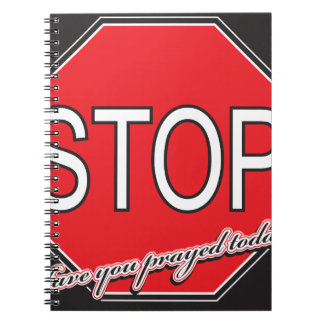Caderno stoppray