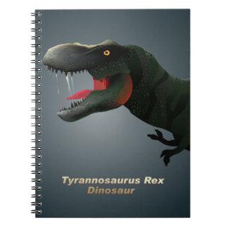 Caderno T-Rex