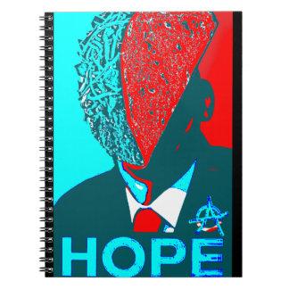 Caderno Taco da anarquia para o presidente