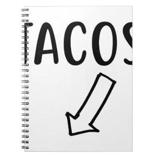 Caderno Tacos